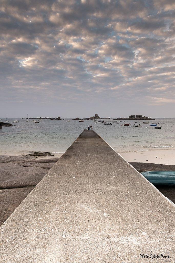 Côte de granit rose mai 2019